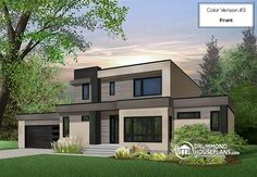 Nice 166 Best Modern House Plans U0026 Contemporary Home Designs Images On Pinterest  | Bedrooms, Garage Plans And Garage Remodel