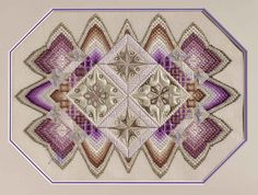 A beautiful example of Bargello - needlepoint.org