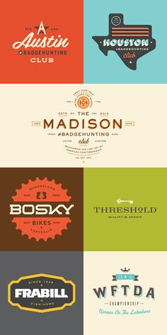 Badges/Logos 2006-2015 on Behance