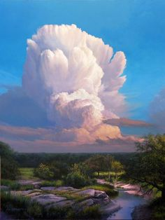 Storm Approaching (painting by artist Layne Johnson)