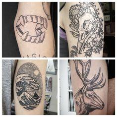 Stefan Draak now full time at True Blue Tattoo Studio Blue Tattoo, Neo Traditional, Tattoo Studio, Drake, Skull, Tattoos, Tatuajes, Retro, Tattoo