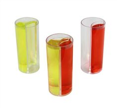 Shot Glass with Chaser Or.... Glass so I can pretend I'm drinking plutonium as portrayed in Back to the Future