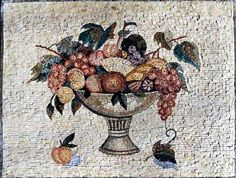 26x34 Awesome Kitchen Back Splash Marble Mosaic Tile by Mozaico. $325.00. Mosaics have endless uses and infinite possibilities! They can be used indoors or outdoors, be part of your kitchen, decorate your bathroom and the bottom of your pools, cover walls and ceilings, or serve as frames for mirrors and paintings.