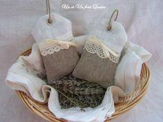 Etiquettes parfumées à la lavande