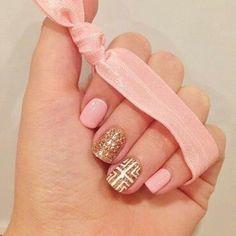 #uñas #diseño #esmalte #dorado #brillante #rosado #cinta http://decoraciondeunas.com.mx #moda, #fashion, #nails, #like, #uñas, #trend, #style, #nice, #chic, #girls, #nailart, #inspiration, #art, #pretty, #cute, uñas decoradas, estilos de uñas, uñas de gel, uñas postizas, #gelish, #barniz, esmalte para uñas, modelos de uñas, uñas decoradas, decoracion de uñas, uñas pintadas, barniz para uñas, manicure, #glitter, gel nails, fashion nails, beautiful nails, #stylish, nail styles, #polish
