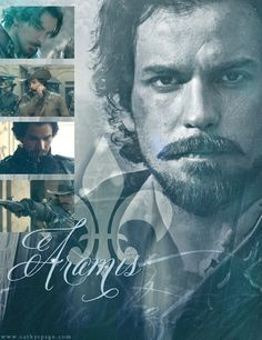 The Musketeers graphics set - Aramis