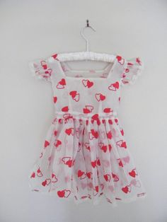 Vintage baby pinafore / dress, 1950's.