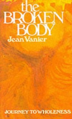 though he has influenced my life and faith I haven't read much by Jean Vanier. This is one of the next ones I would like to read . I believe he discusses the L'Arche communities in more depth in this book.