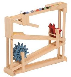Wooden Toy Ball Roller