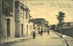 La Canée - Rue Cum-Capu Ταχυδρομική κάρτα
