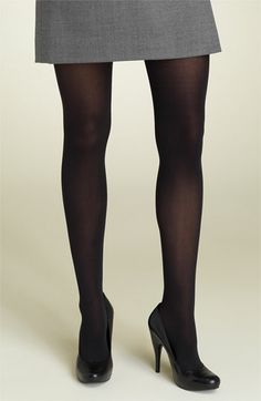 DKNY '412' Control Top Opaque Tights