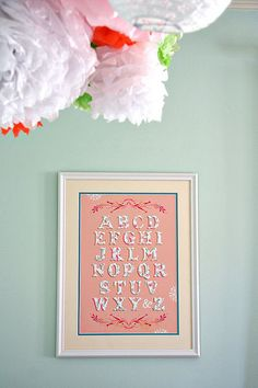 Real Nursery: Paisley's Pink and Orange Baby Retreat Baby Decor, Baby Shower Decorations, Paisley Nursery, Girls Bedroom Colors, Alphabet Wall Art, Gold Baby Showers, Little Girl Rooms, Pink And Gold, Baby Shower Gifts