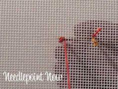 Needlepoint Now Video | Woven Cross (+playlist)