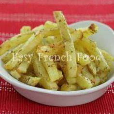 Oven French Fries - Easy Baked Potatoes Recipe For Kids