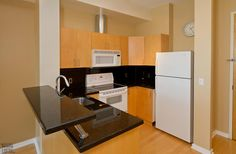 District Lofts-388 Richmond St W #717  | 800+/- sf Demand 2 level, 2 bedroom thru-suite with dual North & South exposures & private balcony! Features floor to ceiling windows, upgraded wood floors on both levels + stairs, granite counters with breakfast bar and custom built-in master bedroom closet! Also includes 1 owned pkg. | More info here: torontolofts.ca/district-lofts-lofts-for-rent/388-richmond-st-w-717-1 2 Bedroom For Rent, Toronto Lofts, Rent To Own Homes, Lofts For Rent, Master Bedroom Closet, North South, Floor To Ceiling Windows, Granite Counters, French Door Refrigerator