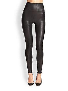 Spanx Faux+Leather+Leggings