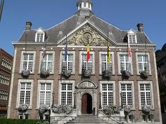Stadhuis (City Hall) Hasselt (België, Belgium)