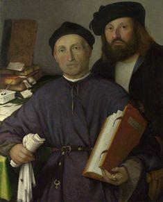 The Athenaeum - The Physician Giovanni Agostino della Torre and His son, Niccolo (Lorenzo Lotto - )