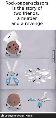 The real truth of Rock, Paper, Scissors