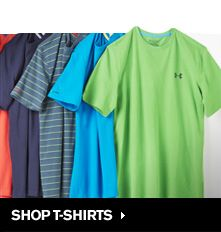 SAVE UP TO 60% OFF FREE SHIPPING Under Armour is the leader in performance apparel, footwear and accessories. Products are sold worldwide and worn by athletes at all levels, from youth to professional, on playing fields around the globe. The company's mission is to make all athletes better through passion, design and the relentless pursuit of innovation.Our products include a diverse assortment for men, women and youth to accommodate any season and temperature.Shop T-Shirts