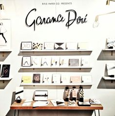 Garance Doré stationery collection! stationery, notebooks, phone cases, calendars, cards