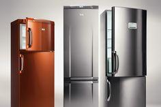 Refridgerators: Copper & Stainless Steel