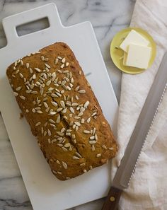 When it comes to Fall, we can't bake pumpkin bread fast enough!