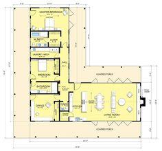 Casa sencilla y moderna con amplios ventanales de 2 dormitorios-2