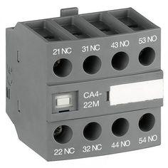Блок контактный дополнительный CA4-22U (2НО+2НЗ) для контакторов AF09…AF16..-30-01 1SBN010140R1322 Montage, Mixer, Audio, Music Instruments, Products, First Aid, Gadget, Stand Mixer, Musical Instruments