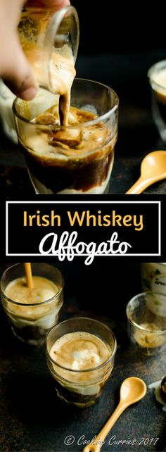 Irish Whiskey Affogato  A dessert and coffee and drink combined, this Irish Whiskey Affogato is always a favorite whether it is St Patrick's Day or not!