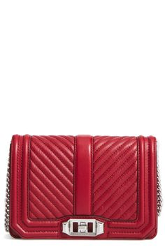New Rebecca Minkoff Small Love Leather Crossbody Bag fashion online. [$195]?@shop.seehandbags<<