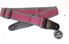 """Embroidered classic design 2"""" cloth guitar strap  electric & acousic guitars  #PP"""