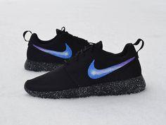 buy online 743e6 e89ae Nike Roshe Custom Painted Galaxy Roshe Run by UnleashedKustoms Nike Galaxy,  Galaxy Shoes, Nike