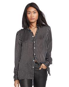 Polo Ralph Lauren - Seidenhemd mit Streifen