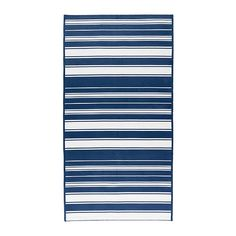 ALSLEV Rug, flatwoven IKEA The rug has the same pattern on both sides, so you can turn it over and it will withstand more wear and last even longer. $19.99