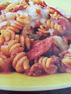 Easy crockpot recipes: Pizza in a Pot Crockpot Recipe