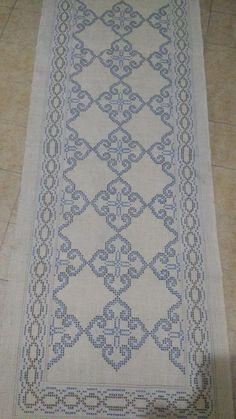 Thread Crochet, Crochet Doilies, Free Swedish Weaving Patterns, Blackwork Patterns, Chart Design, White Crosses, Bargello, Cross Stitch Designs, Needlework