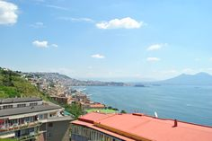 Naples, and Mt. Vesuvius