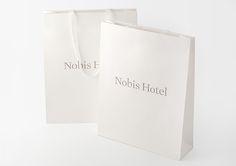 Nobis Hotel —graphic identity by BrittonBritton, via Behance