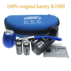Original Kamry K1000 E-Pipe kit Electronic Cigarette Starter Kit with 18350 Battery Atomizer E Pipe Mod Cig Kit 7 color