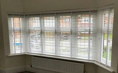 Wooden venetian blinds with matching tapes an easy option if you move to a new house and not sure what your fabrics and colour schemes are going to be.  Book online for a free no obligation quote http://ift.tt/1ocfyRO or call us 01858 456419