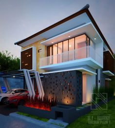 HI HOUSE Golden Park 1 Serpong Tangerang #Architect #HomeDesign #Recidence #Architecchi