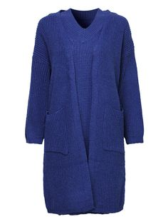 Elegant Women Pure Color Two-Piece Pure Color Sweater Dress Cardigan at Banggood