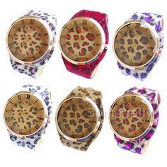 $8.49 Posh Leopard Print Designed Watch Retro-style Watch - BornPrettyStore.com