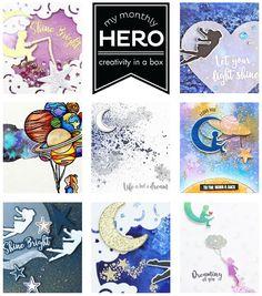August My Monthly Hero is Here! + Giveaway!   Hero Arts