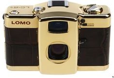 Lomo Camera, Bling, Gold, Jewel