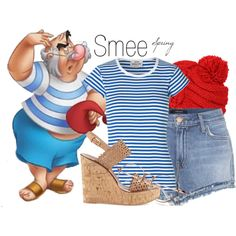 Smee~ DisneyBound by basic-disney on Polyvore featuring Mads Nørgaard and J Brand