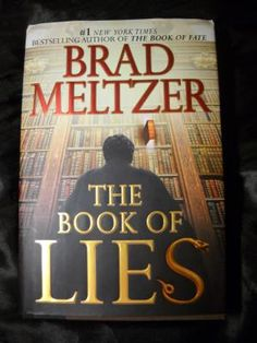 The Book of Lies by Brad Meltzer *HARDCOVER