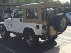 American Convoy ruggedized soft top pictures and configurations Jeep Cj6, 2000 Jeep Wrangler, Jeep Pickup, Jeep Wrangler Accessories, Jeep Accessories, Beach Jeep, Jeep Tops, Safari Jeep, Overland Gear