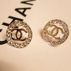 Classic Round Gold Stud Earrings